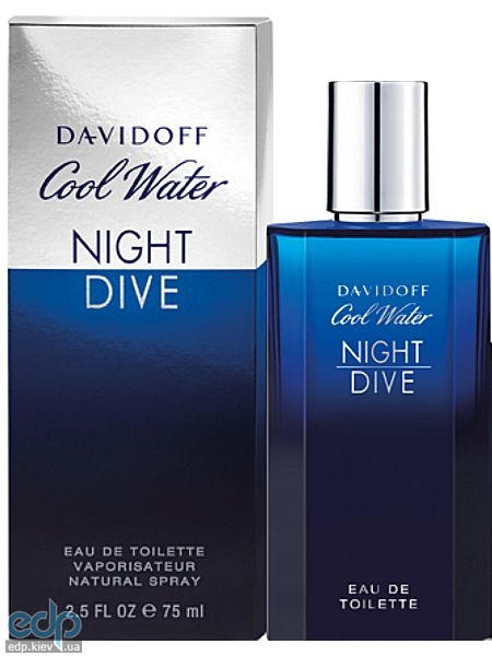 Davidoff Cool Water Night Dive - туалетная вода - 75 ml